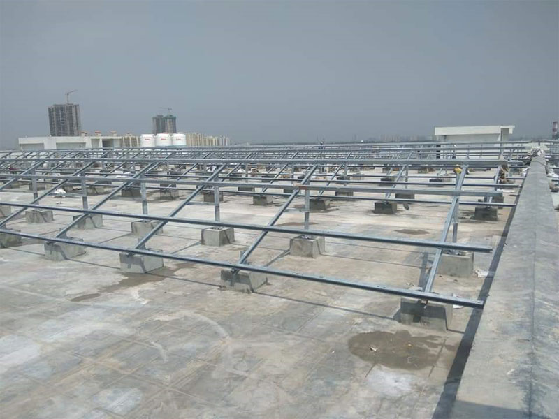 Spv Module Mounting Structures For Rooftop